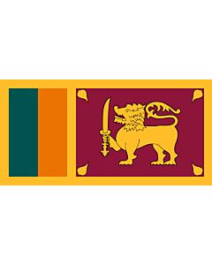 Fahne: Flagge: Sri Lanka