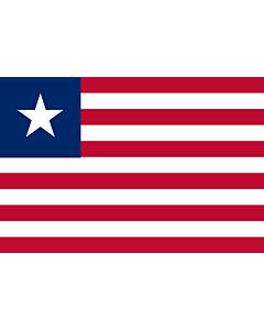 Fahne: Flagge: Liberia