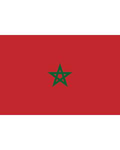 Fahne: Flagge: Marokko