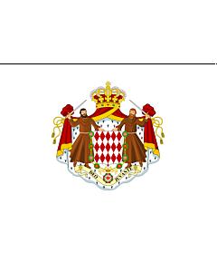 Fahne: Flagge: Monaco