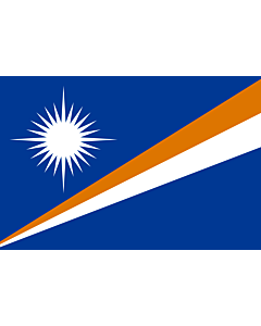 Fahne: Flagge: Marshallinseln