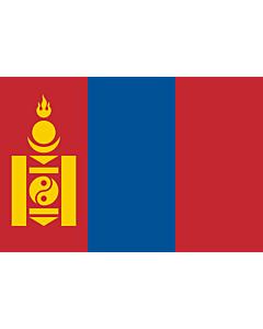 Fahne: Flagge: Mongolei