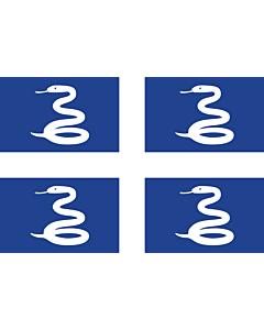 Fahne: Flagge: Martinique