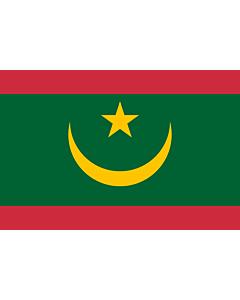 Fahne: Flagge: Mauretanien