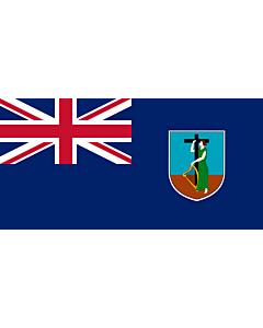 Fahne: Flagge: Montserrat