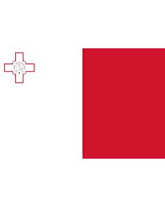 Fahne: Flagge: Malta  variant | Malta | Ta  Malta