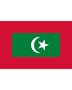 Fahne: Flagge: President of Maldives | Presidential standard of the Maldives