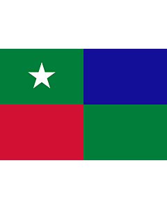 Fahne: Flagge: Standard of the Prime Minister of the Maldives