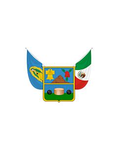 Fahne: Flagge: Hidalgo
