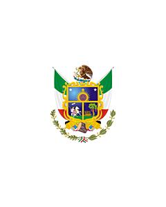 Fahne: Flagge: Querétaro