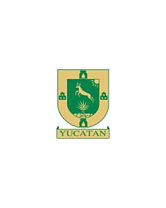 Fahne: Flagge: Yucatán