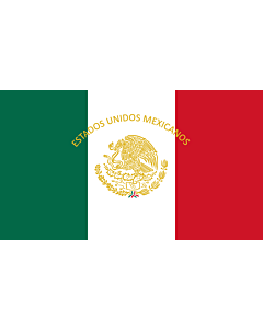 Fahne: Flagge: Mexican Presidential Standard