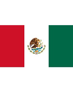 Fahne: Flagge: Mexico  reverse