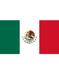 Fahne: Flagge: Mexiko