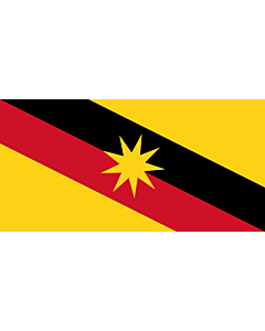 Fahne: Flagge: Sarawak