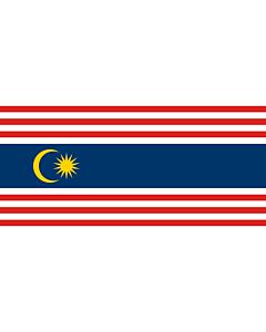 Fahne: Flagge: Kuala Lumpur