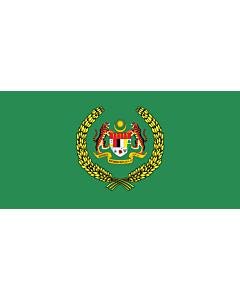 Fahne: Flagge: Standard of the Raja Permaisuri Agong   The Royal Standard of the Raja Permaisuri Agong