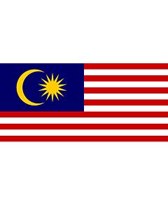 Fahne: Flagge: Malaysia