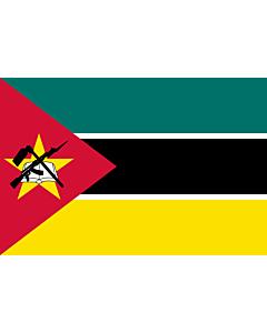 Fahne: Flagge: Mosambik