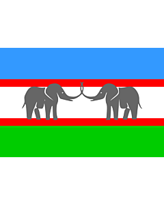 Fahne: Flagge: CANU   Caprivi African National Union of the Free State of Caprivi Strip/Itenge