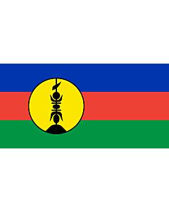Fahne: Flagge: Neukaledonien
