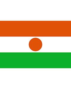 Fahne: Flagge: Niger