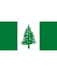 Fahne: Flagge: Norfolkinsel
