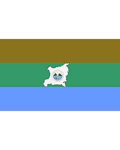 Fahne: Flagge: Region Autonoma del Atlantico Norte