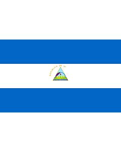 Fahne: Flagge: Nicaragua