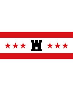 Fahne: Flagge: Drenthe