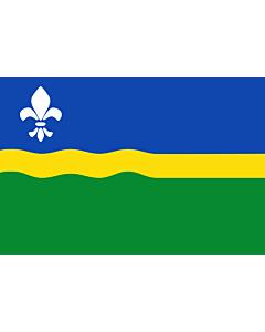 Fahne: Flagge: Flevoland