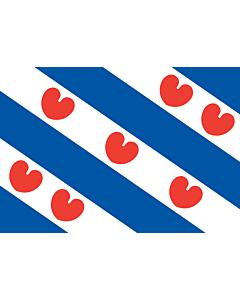 Fahne: Flagge: Friesland
