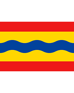Fahne: Flagge: Overijssel