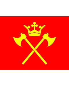 Fahne: Flagge: Hordaland