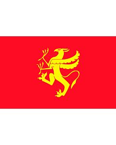 Fahne: Flagge: Troms