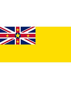 Fahne: Flagge: Niue