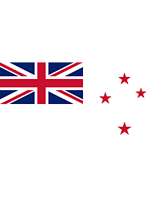Fahne: Flagge: Naval Ensign of New Zealand