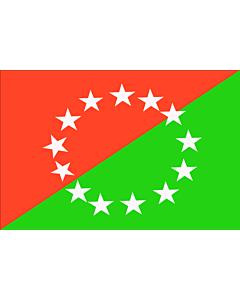 Fahne: Flagge: Chiriqui  Panamà