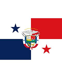Fahne: Flagge: Presidential Flag of Panama | Presidencial de Panamá