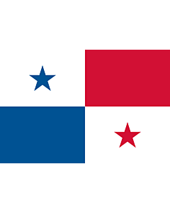 Fahne: Flagge: Panama
