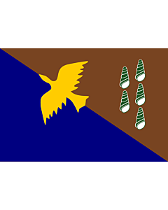 Fahne: Flagge: Manus   Manus, province of Papua New Guinea   Plak bilong Manus, provins bilong Papua Niugini