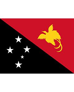 Fahne: Flagge: Papua-Neuguinea
