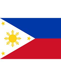 Fahne: Flagge: Philippinen
