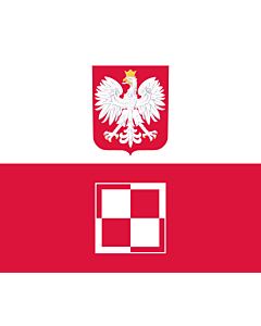 Fahne: Flagge: Commander-in-Chief of the Polish Air Force | Polish Air Force Commander-in-Chief s flag | Dowódcy Sił Powietrznych RP