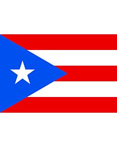 Fahne: Flagge: Puerto Rico
