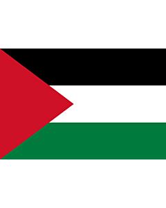 Fahne: Flagge: Palästina