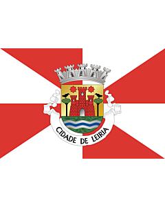 Fahne: Flagge: Leiria
