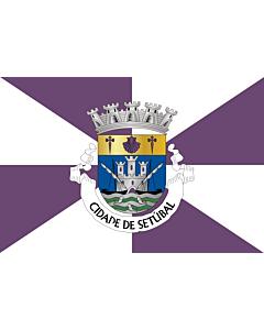 Fahne: Flagge: Setúbal