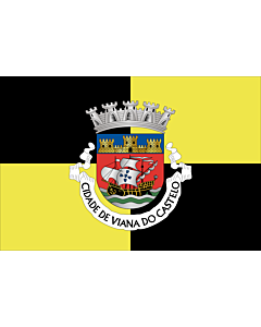 Fahne: Flagge: Viana do Castelo