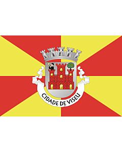 Fahne: Flagge: Viseu